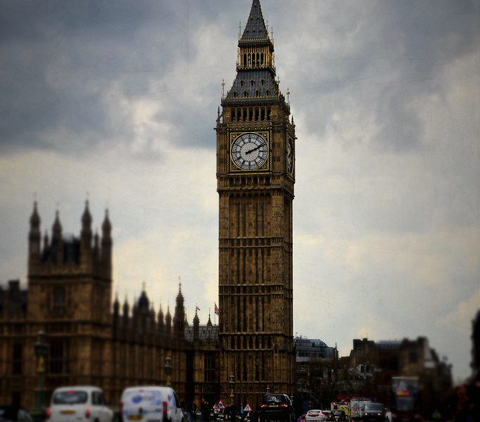 Big Ben - Palace of Westminster in London
